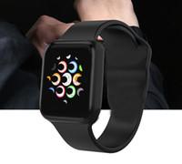 iwatch akıllı saat toptan satış-Mont intelligente iphone iwatch IWO 9 Akıllı İzle 44mm Serisi 4 Bluetooth Smartwatch Nabız Spor GPS saatler android Samsung