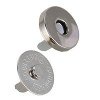 bolsa magnética snaps venda por atacado-20 Conjuntos Magnetic Button Clasp Snaps 18mm - Ótimo para costura, artesanato, bolsas, bolsas, roupas, couro