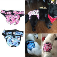 Wholesale free dog diapers for sale - Group buy Hot Sales Wholesales Large Female Dog Puppy Sanitary Panty Pant Short Panty Diaper Underwear
