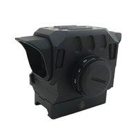 telescópios ópticos venda por atacado-Tático DI EG1 Optical Red Dot Rifle Scope 1.5 MOA Visão Holográfica para 20mm Rail Caça Âmbito Preto
