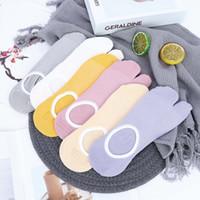chinelo japonês venda por atacado-1 pares novas meias estilo japonês quimono boca rasa chinelo flip flop sandália dividida 2 dedo do pé tabi pé dedo