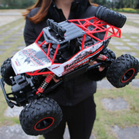 Wholesale rc climb car resale online - Hot new WD RC car G wireless oversized remote control car drift off road vehicle four wheel drive climbing truck children s toys