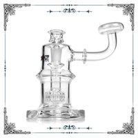 Wholesale bubbler matrix perc resale online - 8 Inches Phoenix Glass Bubbler Matrix Perc Glass Smoking Water Pipes Hookah mm Joint