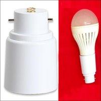 ingrosso lampade alogene-Presa per convertitore adattatore lampada lampadina alogena BL LED B22 a E27