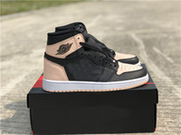 Wholesale sneaker girls for sale - Group buy 2019 NEWEST Release Man Women Girl Basketball Shoes High OG Crimson Tint S With Box Running Sneakers US
