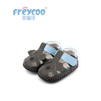 весна лето новые детские туфли оптовых-Freycoo 2019 New Summer Spring Kids Shoes Baby Toddler For Girls Cowskin Genuine Leather Cack Shoes 1258