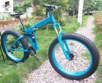 Wholesale full tires resale online - Kalosse speed M610 Full suspension Beach bicycle Snow bike Hydraulic brakes mountain bike tires