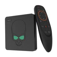 Wholesale king tv resale online - Beelink GT King Android TV BOX Amlogic S922X GT King G DDR4 G EMMC Smart TV Box G G Dual WIFI M LAN with K
