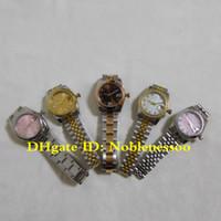 caja de reloj 16 al por mayor-16 Estilo en caja original Señoras Reloj de lujo 31MM Lady Datejust Mujer 178240 178241 178273 278245 278278 Asia 2813 Relojes automáticos de mujer