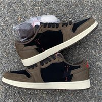 Wholesale retro 12 low for sale - Group buy S Low OG SP TS Dark Mocha Retro Cactus Jack Black M CQ4277 Man Basketball Shoes size7 with box