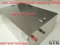 station base großhandel-200ah 48v lifepo4 batterie 48v 10kWh bateria für 48V RV baterie elektrisches motorrad leuchtturm