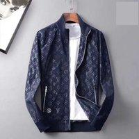 ingrosso giacca con cappuccio mens invernale-ss19 new Designer Winter Men's Black Jacket Zip caldo spessore di alta qualità con cappuccio giacca casual uomo sciolto cappotto giacca di alta qualità