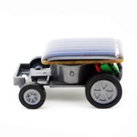 mini güneş araba yarışçısı toptan satış-Güneş Oyuncaklar Çocuklar Için Küçük Güneş Enerjisi Mini Oyuncak Araba Racer Eğitim Gadget Hediye Oyuncaklar Interaktif Eğlenceli Çocuk Oyuncak