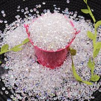 Wholesale scatter crystals table decorations for sale - Group buy Hot mm Acrylic Diamond Crystal Bling Transparent Confetti For Wedding Party Decoration Confetti Table Scatter Beads