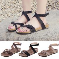 Wholesale clogs for men resale online - Factory Direct Sandals Women Summer Shoes Women Flat Sandals For Beach Chaussures Femme Clog Plus Size Casual Flip Flop