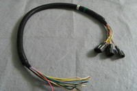 tipos de cables electrónicos al por mayor-¡Envío gratis! Mazo de cables del enchufe de la excavadora universal para bomba de aceite electrónica (Hitachi, Daewoo, Kobelco, Sany, Cat ...) / cable tipo Gerneral