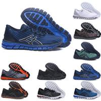 jel spor ayakkabıları toptan satış-Asics shoes Jel-Quantum 360 ÜST KRKT Istikrar Koşu Ayakkabıları T728N bule beyaz atletik açık Spor Koşu ayakkabıları eğitmen hız kadın sneaker ...