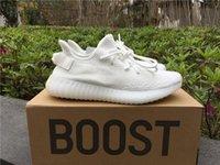 crème ultra boost achat en gros de-Sply Boost 350s V2 Chaussures de sport blanc crème zèbre noir Ultra semi Tint Sesame Beluga 2.0 Sneakers homme Chaussures en cours