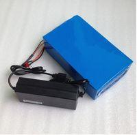 elektroroller ladegerät 36v großhandel-Heiße Verkäufe 36V Lithium Batterie 36V 20AH Elektrische Fahrradbatterie 36 V 20AH 1000W Roller Batterie mit 30A BMS 42V 2A Ladegerät