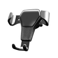 Wholesale holders cars online - Universal Car Phone Holder Air Vent Mount Stand For Phone In Car No Magnetic Mobile Phone Stand Holder with retail package