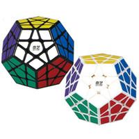 hız megamin toptan satış-3 Sipariş Megaminx Sihirli Fidget Küp 12 Yüzler Stickerless Dodecahedron Hız Küpleri Zeka Büküm Bulmaca Oyuncak