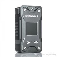 schneewolf tc box mod groihandel-100% Vorlage Snowwolf Xfeng 230W TC Box Mod Fit für Dual-18650 Sigelei Schneewolf Xfeng 230W Vape Mod