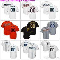 baseball jerseys minnesota groihandel-Individuelle Mens-Baseball-Shirt Colorado Rockies Houston Astros Washington Nationals Chicago Cubs Minnesota Twins Offizielle kühle niedrige Jerseys nähen