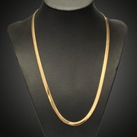 ingrosso collana della catena del serpente d'ottone-Collana in oro con catena a forma di serpente in oro placcato in oro placcato catena in ottone per catene di donne in ottone per fare gioielli regalo