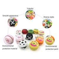 Wholesale wooden building toys for children for sale - Group buy 5cm Wooden Yo Yo Personality Creative Building Personality Sport Hobbies Classic Yoyo Classic Toys For Children Christmas