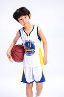 camisas de ginástica venda por atacado-Crianças boy basquete jerseys nova chegada ginásio agasalho para meninos Camiseta De Baloncesto Kids