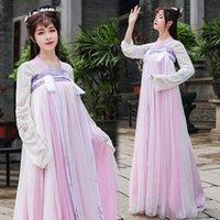 vestidos de baile de hadas al por mayor-Traje antigua dinastía china tradicional vestido de las mujeres Hanfu Hanfu de hadas de princesa vestidos de la danza popular de ropa Tang