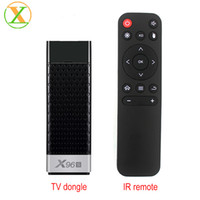 Android TV Stick X96S Amlogic S905Y2 2GB RAM 16GB ROM Android 8 1 Tv dongle  X96S 2 4G 5 8G Wifi TV Box
