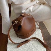 мягкая сумка для врачей оптовых-Retro Mini доктор сумка Женщина Crossbody мешок плечо высокого качество мягкой Синтетическая кожа Женская сумка кошелек сумка