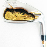 Wholesale New Golf Clubs HONMA S star Golf irons set Aw Sw Clubs irons Graphite Golf shaft R or S Flex