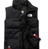 erkek kışlık giyim ceketleri toptan satış-KIŞ KUZEY ADAM Erkek Mont Ceketleri FACEITIED COATS OUTERWEAR VEST Down Jacket