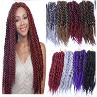 Wholesale different color braiding hair for sale - Group buy 12 Strands Pack Different Color Synthetic Braids Hair Extensions inch g Pack or inch g Pack Kanekalon Heat Resistant Fiber