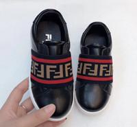 baby jungen schuhe jahr großhandel-New Kids'Skid-proof Jungen Leder Koreanische Version Sommer Kinder Weiche Unterseite rutschfeste Baby Skate Schuhe 3-8 Jahre