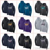 hoodies name großhandel-Baumwolle Heißer verkauf Männer Rams Dolphins Vikings Patriots Saints Team Name Leistung Pullover Hoodie