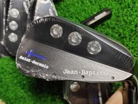 Wholesale saint germain for sale - Group buy Playwell Jean Baptiste Saint Germain black blade finished golf iron head forged carbon steel CNC iron wood iron