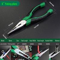 nariz do japão venda por atacado-LAOA Marca cortador de fio Japão Tipo de nariz longo Alicates Cr-V pesca Alicates Peixe Ferramentas Steel Wire Side cortador