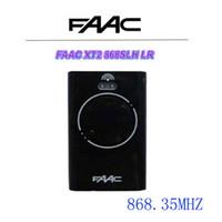 control remoto universal rolling code al por mayor-Top para FAAC XT2 868 SLH LR Control remoto 868,35MHz Código de balanceo 2 teclas
