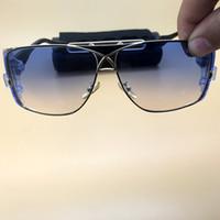 sunnies marka güneş gözlüğü toptan satış-Metal Güneş Gözlüğü Etrafında Sarın Gazelle Boy Bisiklet Sunnies Kayak Gözlükleri Popüler Marka Sürüş Gözlük Lüks Tasarımcı Cam