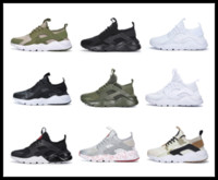 Wholesale lace store online for sale - Factory online store unisex Huarache running shoes men women good quality Huarache sneakers trainers sneaker big size US11
