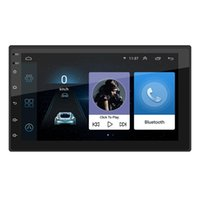 Wholesale radio mp5 resale online - NEW In Press Android Monitor Car Stereo Mp5 Player Gps Navi Wifi Bt Fm Radio Bluetooth Reversing Gps Mirror Link F