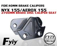 soportes yamaha al por mayor-Soporte de pinza de freno de aleación de aluminio CNC Modificación de motocicleta para Yamaha NVX155 Aerox 155 Soporte de pinza de freno de 40 mm