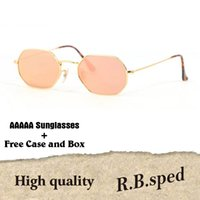 9adfaefed52f Wholesale polygon glasses for sale - AAAAA New arrival Polygon sunglasses  men women brand design Metal