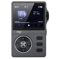 jogador do flac do flac do macaco venda por atacado-Aigo MP3-108 liga de zinco HiFi de alta qualidade de som Lossless Music 2.2 polegadas 8GB MP3 Player suporte APE / FLAC / WMA / WAV / OGG / ACC
