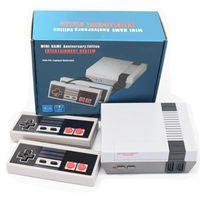 videojuego tv gratis al por mayor-La más nueva llegada Nes mini TV puede almacenar 620 500 consola de juegos de vídeo portátil para juegos de NES Consolas Wth caja al por menor libera el envío Paquete