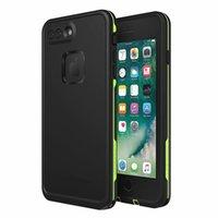 iphone su geçirmez toptan satış-iPhone X'ler max 6 6s iphone 7 8 artı fre Su geçirmez Darbeye Snowproof DirtProof Perakende ambalaj serbest epacket için Hayat Su geçirmez Kılıf