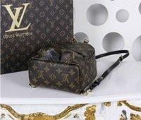 geri mesajlaşma toptan satış-2019 Toptan Hakiki deri çanta çanta kadın moda sırt çantası omuz çantası çanta presbiyopik mini paket messenger çanta 3208